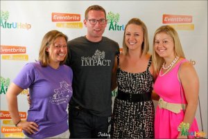 MassChallenge and Eventbrite staff at AltruHelp IMPACT Networking